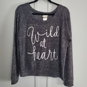 Modern Lux Wild at Heart Long Sleeved Top